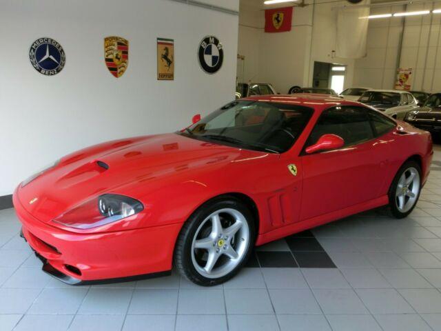 """Ferrari 550 Maranello Dt.Fzg. 2.Hd. 1.Lack""""gr.KD/ZR NEU"""""""