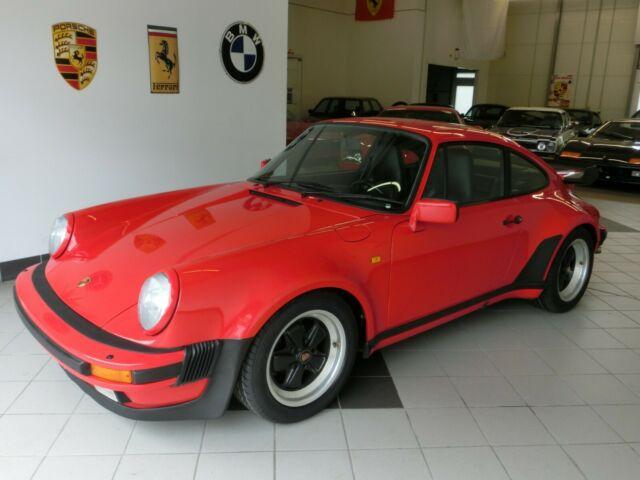 Porsche 911 Turbo 5-Gang Dt.Auslief.1.Lack Werksoriginal