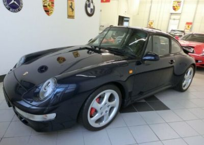 Porsche 993 Turbo Dt. Fzg. orig.78000km**Werksoriginal**